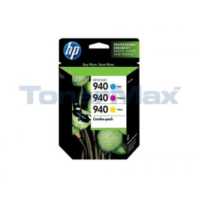 HP NO 940 INK CARTRIDGE COLOR COMBO-PACK